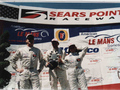 Milka wins the American Le Mans Series Grand Prix of Sonoma at Sears Point Raceway