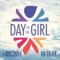 international day of the girl logo